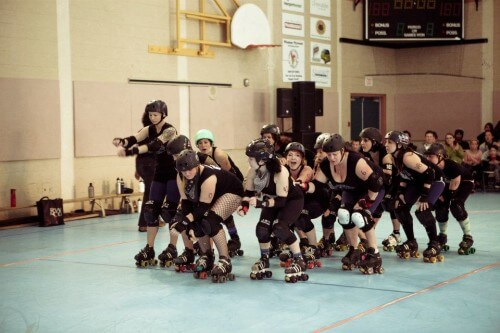 Billey Woods - Roller Derby - 02