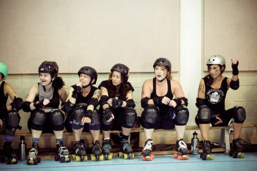 Billey Woods - Roller Derby - 03