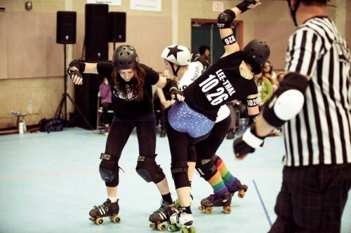 Billey Woods - Roller Derby - 05