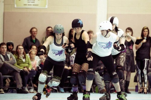 Billey Woods - Roller Derby - 13