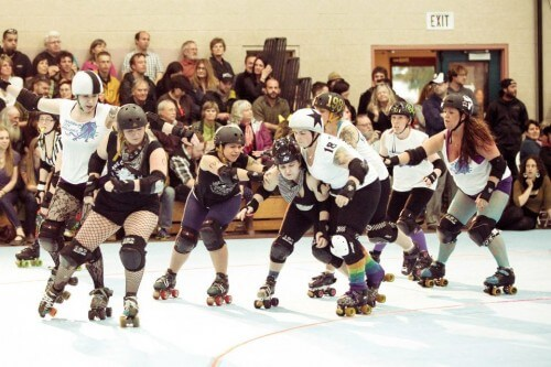 Billey Woods - Roller Derby - 17