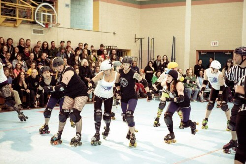 Billey Woods - Roller Derby - 19