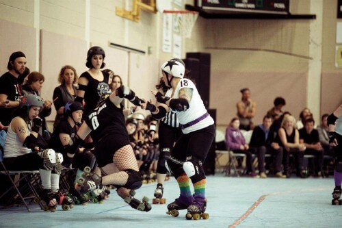 Billey Woods - Roller Derby - 20