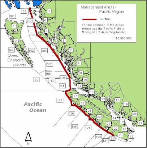 Salt Spring - Marine Management Areas