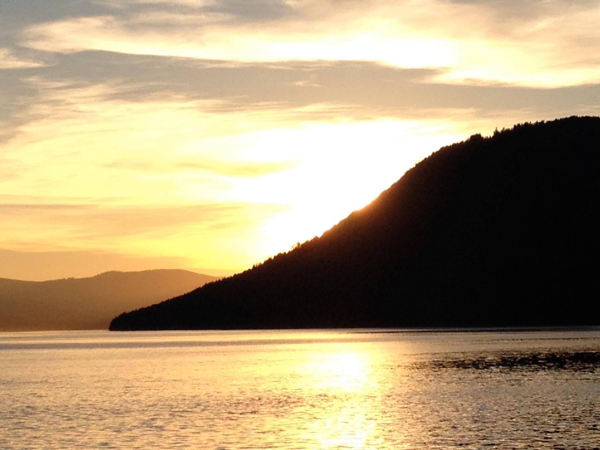 Salt Spring - Mount Tuam - Sunset