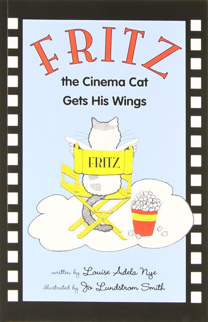 Salt Spring Reads - Fritz the Cinema Cat