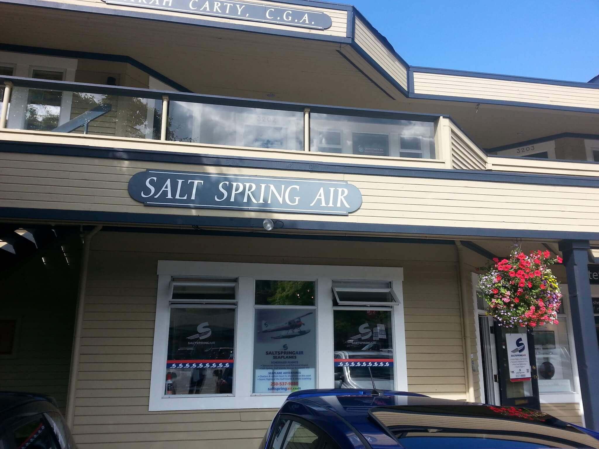 Salt Spring - Salt Spring Air Business Profile - 04